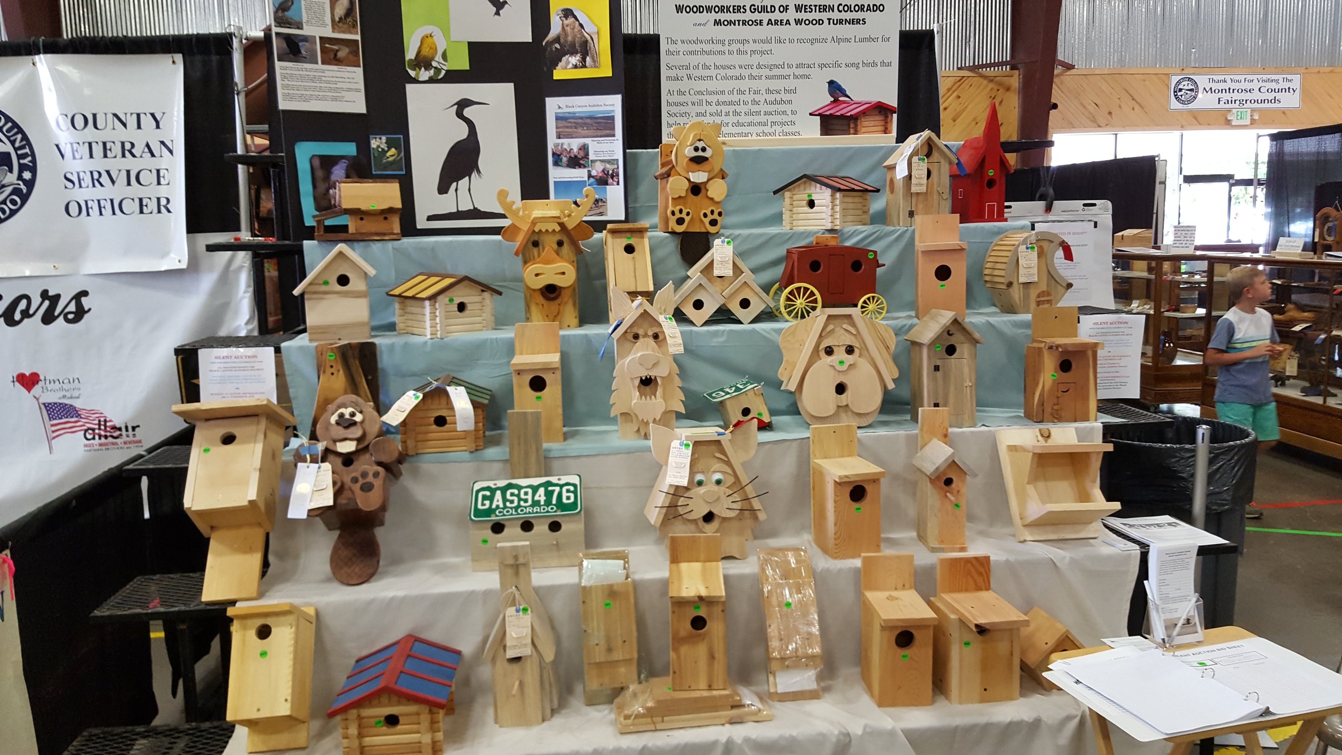 2017 fair birdhouses